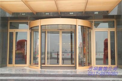 南皮玻璃门