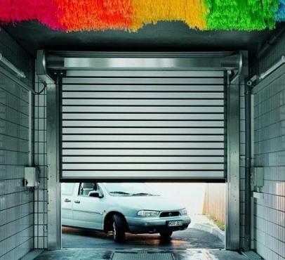 车库卷帘门安装